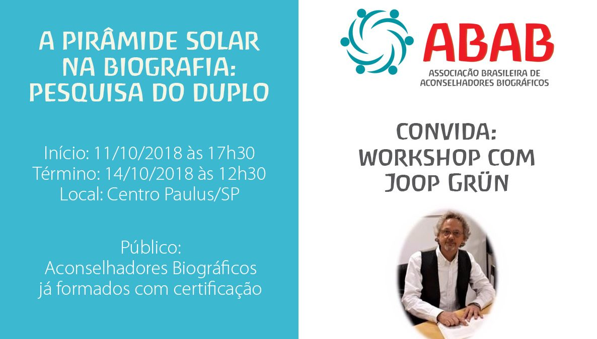 workshop piramide solar na biografia