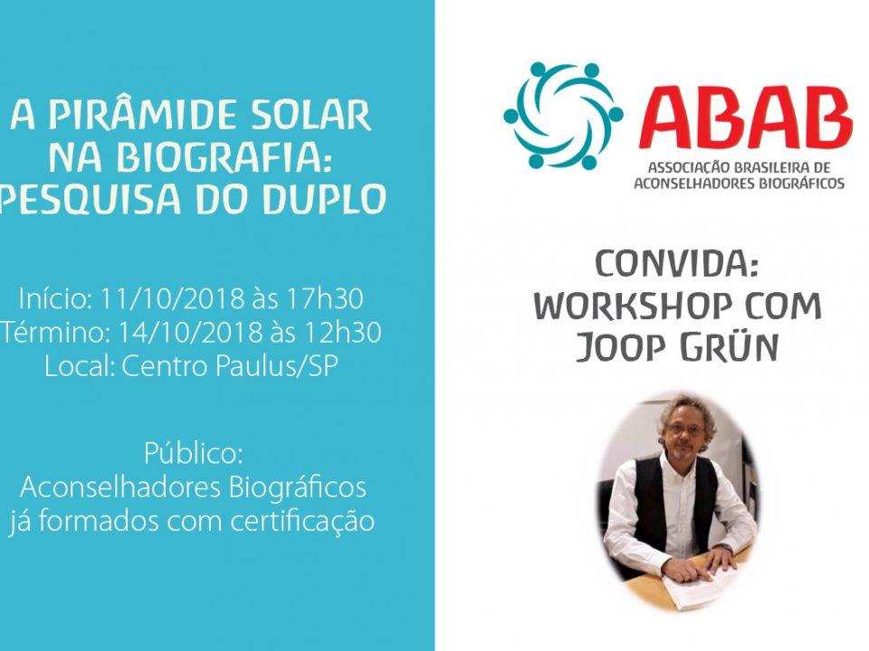 workshop piramide solar na biografia